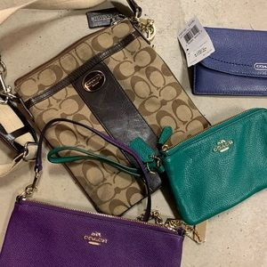 4 Coach Bags and Wallets
